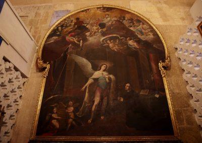 San Rafael en su aparición al P. Roelas de Antonio Álvarez Torrado