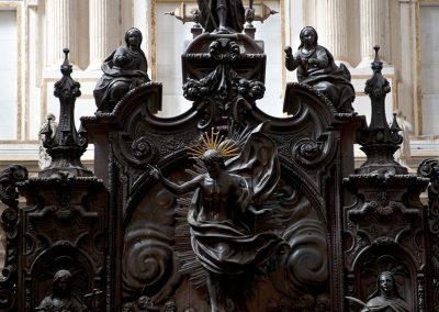 San Rafael de la sillería de la Catedral