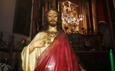 APERTURA AÑO JUBILAR SAGRADO CORAZÓN DE JESÚS.